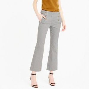 J. CREW Teddie Sailor Pants Skinny Stripe {Z14}